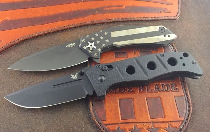 Benchmade - Pic request of our customized ZT0095S90V and Benchmade Adamas. Both in stock at www.usamadeblade.com #ztknives #zerotoleranceknives #zt #benchmade...