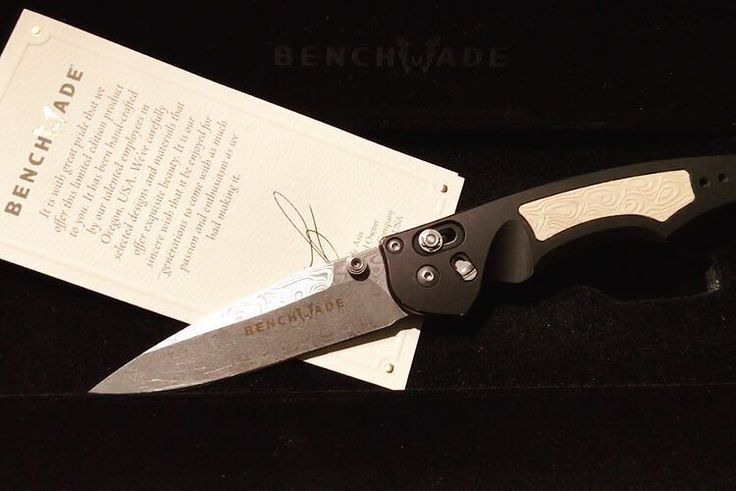 Benchmade - #benchmade #damascus #limit