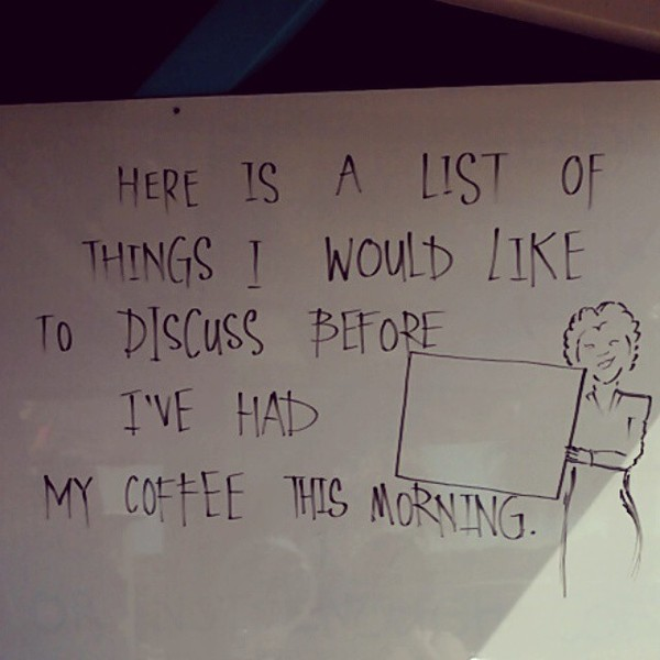 COFFEEUFEEL - Oh #waiheke, you're so #boss! Schooling me on how to be one since ages ago. Pretty much me to a tee... #Coffee #CoffeeUFeel #MorningRoutine #boutthatlife...