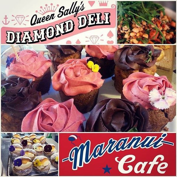COFFEEUFEEL - Come hang out at Havana Lounge! Our cabinet is filled with heavenly delights from our talented friends at Queen Sally's & Maranui 🍩🍰🍣☕️ Perfectly accompanied...